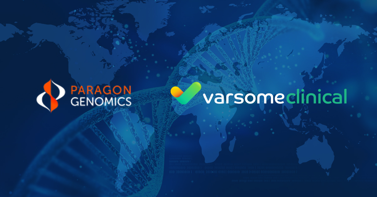 VarSome Clinical and Paragon Genomics Bundled Solution